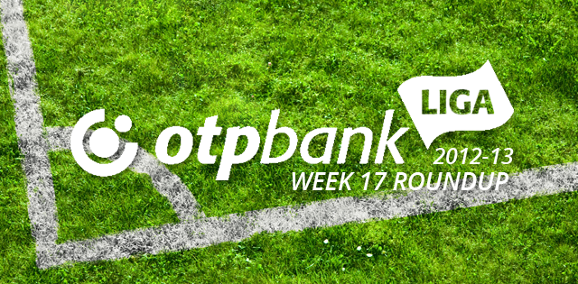 OTP Bank liga match day 17 round up