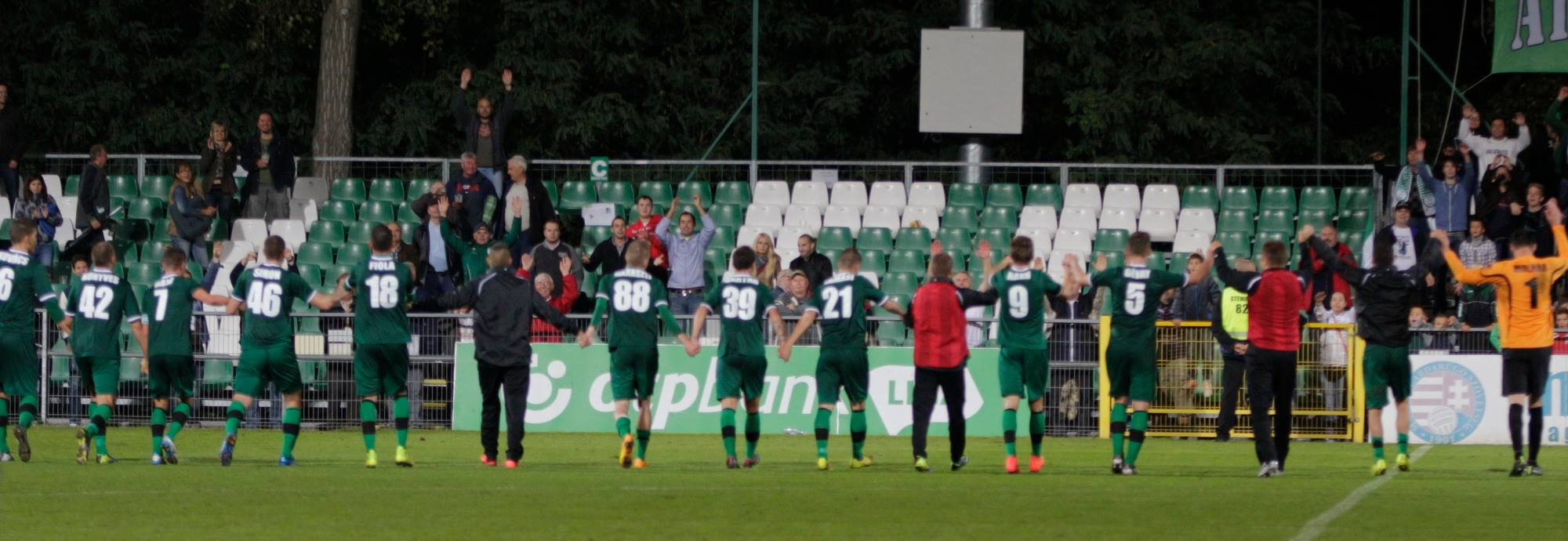 Hungarian NBI So Far 2014/15 … Paksi FC